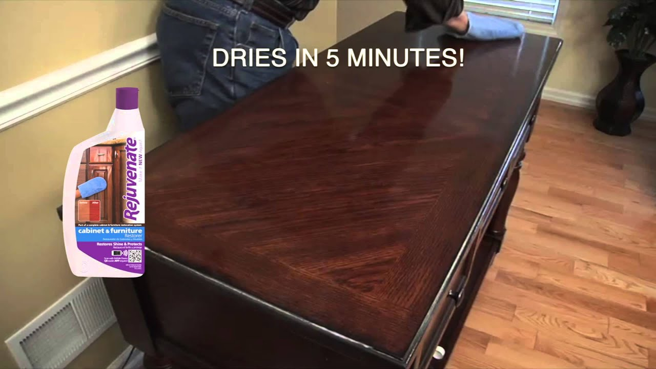Rejuvenate Cabinet & Furniture - YouTube