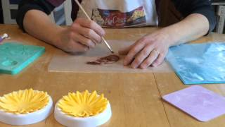 gum paste flowers how to make sunflowers