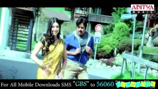 Shruti Hassan Saree look in Gabbar Singh Latest Trailer - Dil Se Song