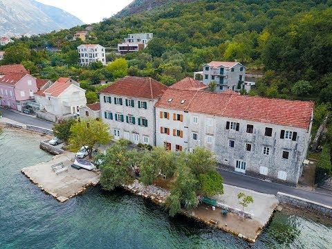 Stone seafront house for sale in Boka Bay - Property in Montenegro