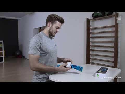 Bauerfeind Sports Knee Support - So legst du unsere Sport-Kniebandage richtig an