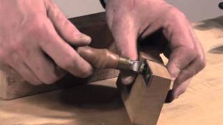 Turning A Burr On The Thicknessing Gauge, With Steve Latta