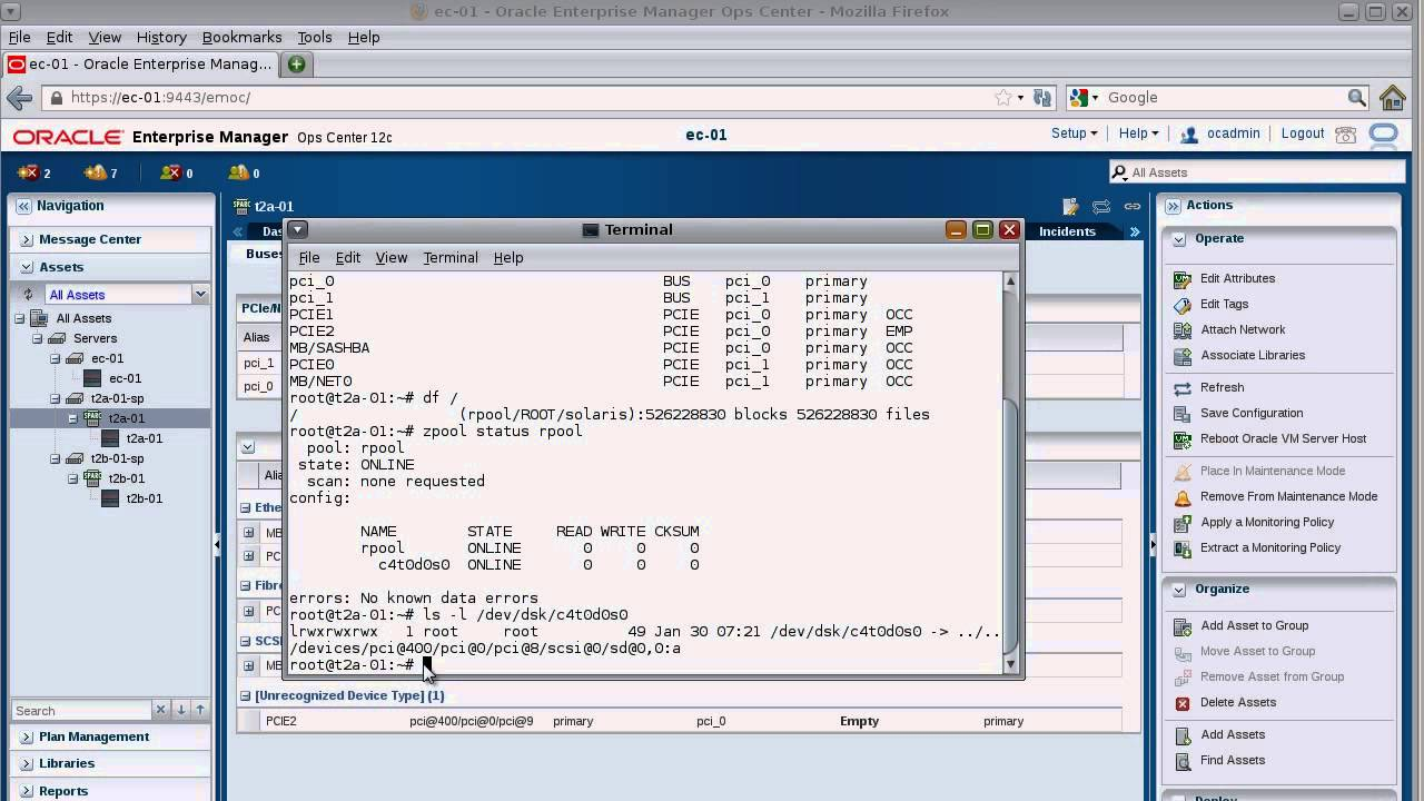 Creating an I/O Domain Part 20   Determining a Free PCIe Endpoint Device  for an IO Domain