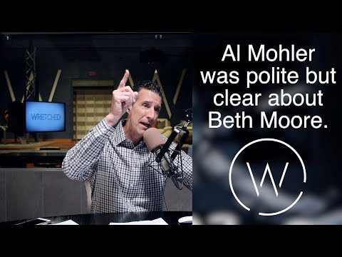 Al Mohler was polite but clear about Beth Moore.
