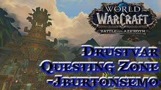 WoW Bfa Alpha - Live Stream Drustvar and Dungeons!