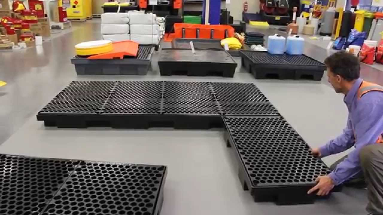 Low Profile Spill Containment Bunds From Global Spill