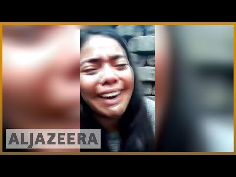 🇳🇮 Nicaragua unrest: Student protester livestreams attack |