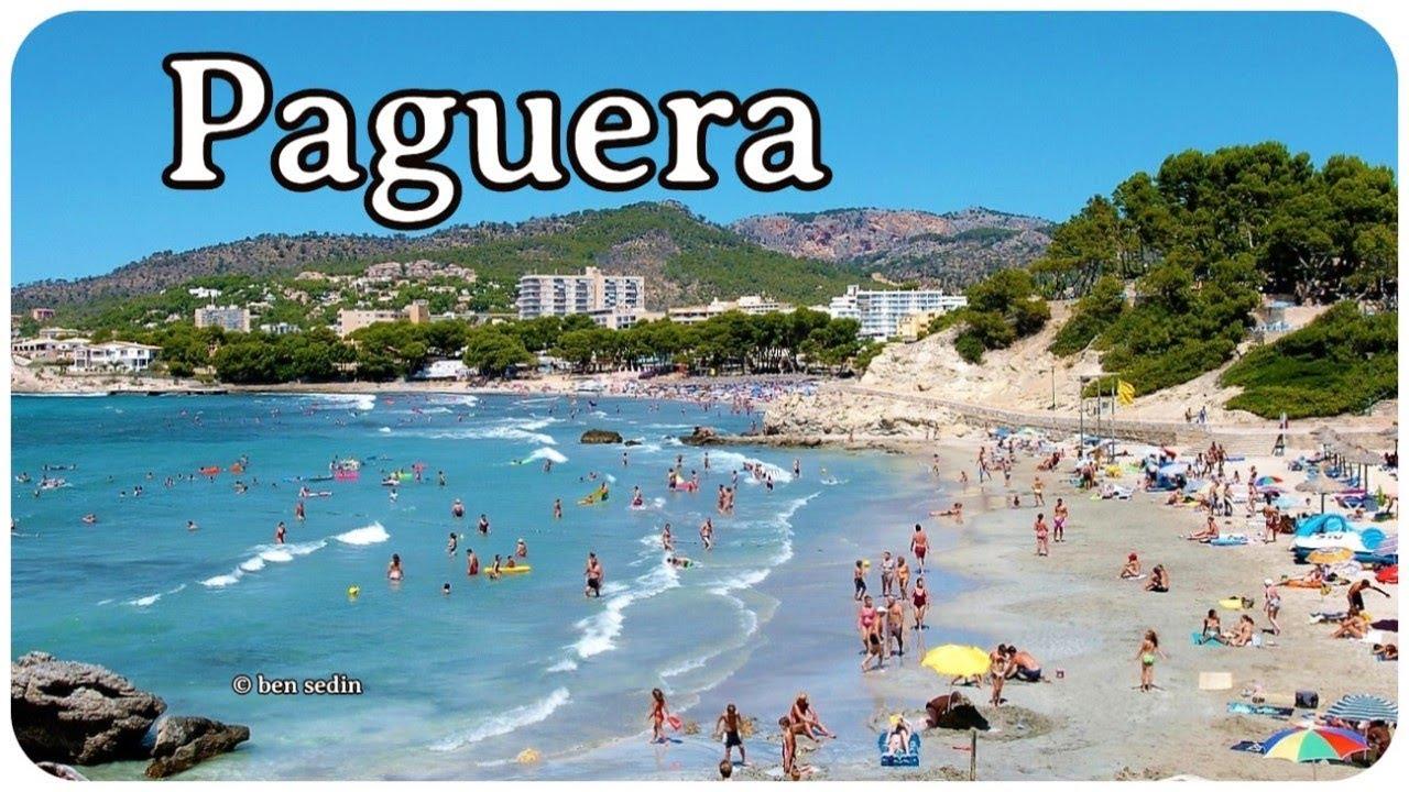 Paguera Peguera Mallorca Majorca Spain Youtube