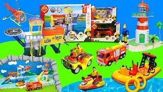 Feuerwehrmann Sam Spielzeug: Feuerwehrautos & Rettungsboote bei der Wasserwacht von Pontypandy