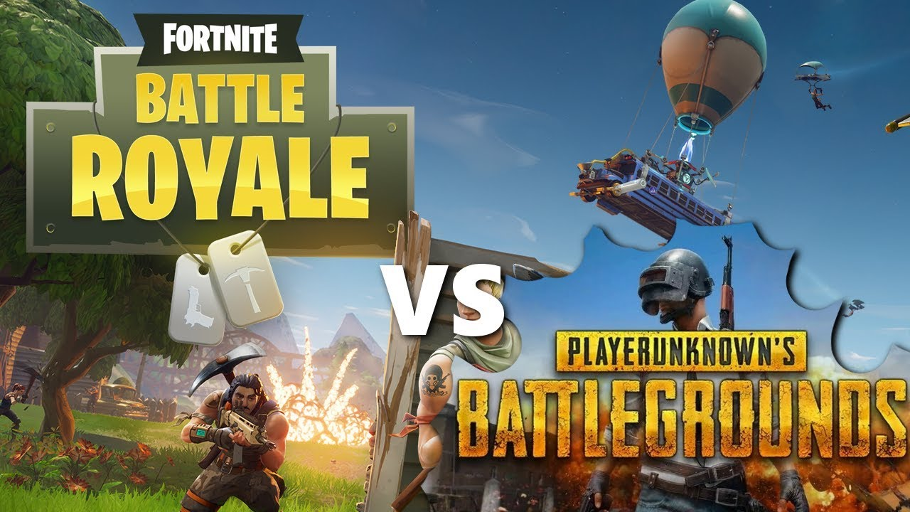 Pubg V Fortnite: Fortnite Vs PUBG - A Gameplay Perspective