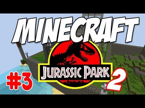 Christian's Jurassic Park - Part 3 - Hatchery and Fence Construction!