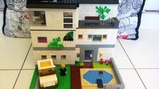 Como construir uma casa média de Lego 1