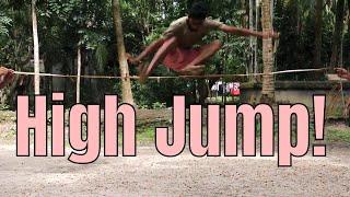 High Jump - Nostalgic Village Sports - Funny Village Games