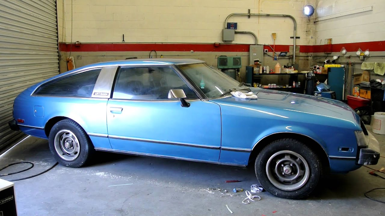 Update Behind The Scenes 1978 Toyota Celica 5 Speed Gt