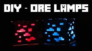DIY - Ore Lamps