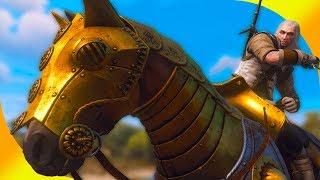 🏇 Кавалерийский (конный) билд для Плотвы и Геральта в Ведьмак 3