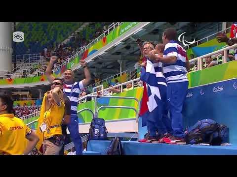 Campeón paralímpico en paranatación, Lorenzo Pérez, exhibe excelente forma física y psicológica