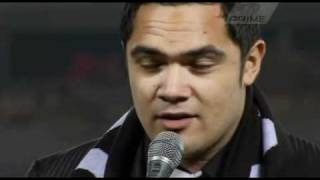 Nick Afoa - NZ National Anthem.avi