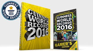 Guinness World Records 2016 teaser trailer