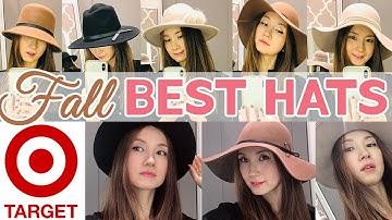 가을패션 모자 코디 / Target Fall Best Hats 2019 / 가을신상 모자 다 써보자! 평범한 룩에서 패셔니스타로/ 가을모자 연출법