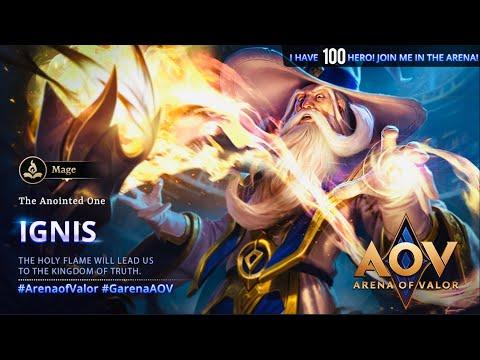 AOV - Arena Of Valor - Ignis gameplay