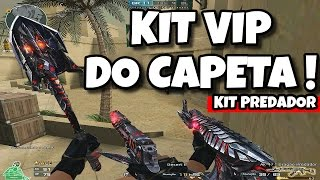KIT VIP PREDADOR DO CAPETA! CROSSFIRE AL