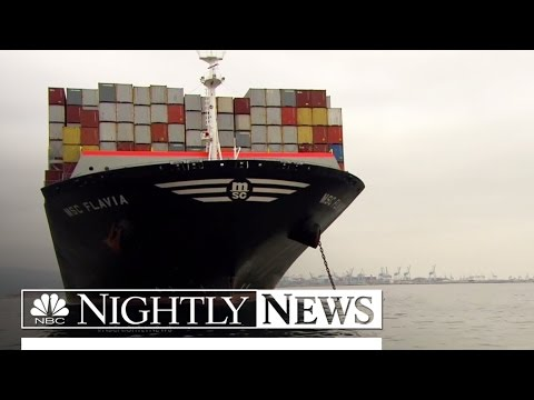 West Coast Ports Reopen Slowly | NBC Nightly News