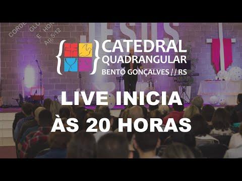 Catedral Quadrangular - Culto de Sexta-feira  15/05/20 - Live às 20 horas