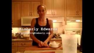 How To Make Rhubarb Lemonade: Cooking With Kimberly