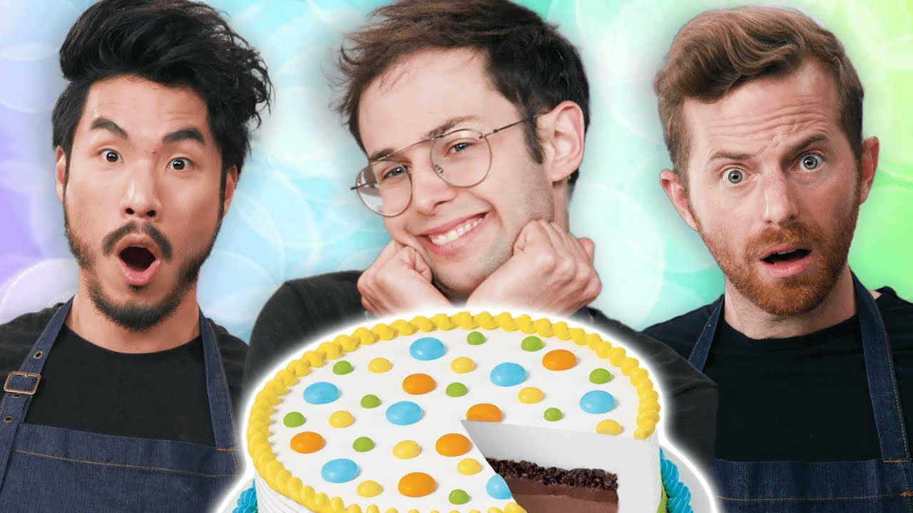 The Try Guys Make Ice Cream Cake Without A Recipe