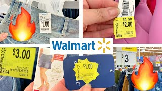 WALMART CLEARANCE!!! 🔥$1 CLOTHES, $2 CLOTHES, $3 CLOTHES + HIDDEN CLEARANCE!!!