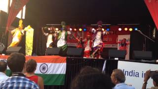 Canberra Bhangra Jammers (CBJ) @ Australian National Multicultural Festival 2014