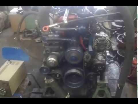 Испытание двигателя WEICHAI WP12 после кап ремонта сервисной бригадой ДСТ-Иркутск