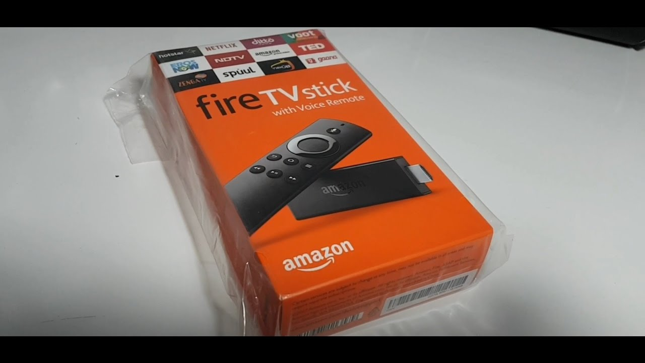 f1d0f82cd4bd Amazon Fire TV Stick India Unboxing! Voice Search! How To Setup! Overview! Amazon  Prime Video!