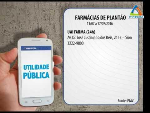 (JC 11/07/16) Farmácias de Plantão