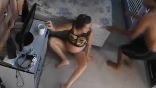 TROLLING MY HUSBAND THE BABY WILL BE BORN/ TROLLANDO MEU MARIDO A BOLSA ESTOURO