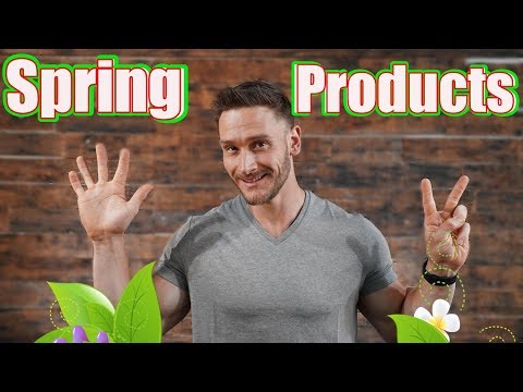 My Recommended Products   Spring 2019