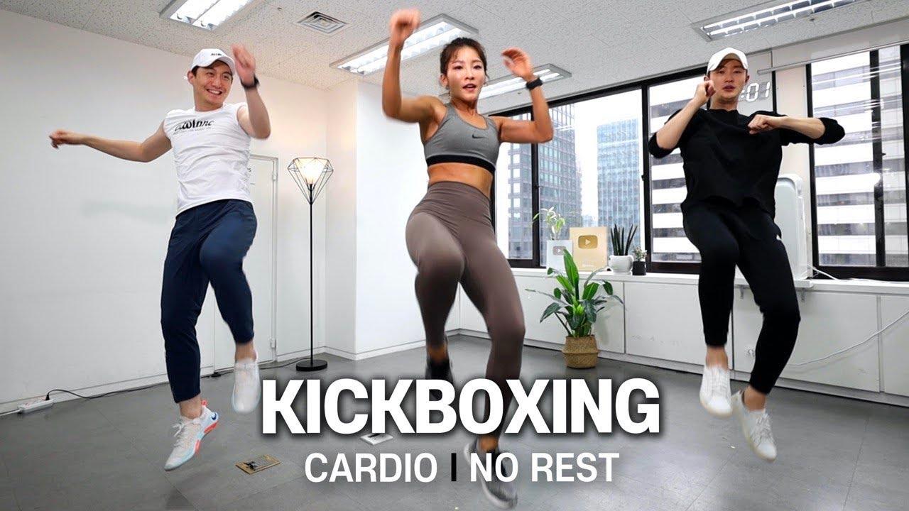 e.7 18min Kick Boxing Cardio & Stretch🥊 | 18분 킥복싱 유산소 & 스트레칭 (전신 다이어트)