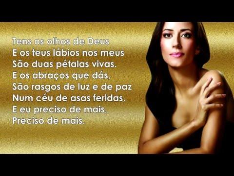 Ana Moura - Tens Os Olhos De Deus (Letra)