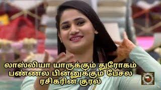 லாஸ்லியா யாருக்கும் துரோகம் பண்ணல பின்னுக்கும் பேசல ரசிகரின் குரல் | Bigg Boss Finale
