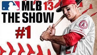 "MLB 13 The Show - Road to the Show - Part 1 ""The King is Born"" (Gameplay & Commentary)"