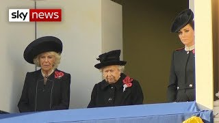 UK marks 100th anniversary of the Armistice