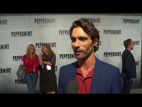 Peppermint LA Premiere - Itw Tyson Ritter (official Video)