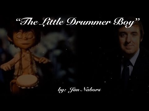 🎄The Little Drummer Boy🎄 (w/lyrics)  ~  Jim Nabors
