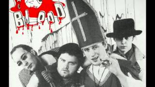 The Blood - Megalomania EP (1983 U.K.)
