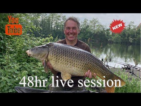 48hr Carp Fishing River Lot