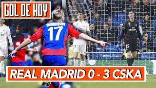 Real Madrid 0 - 3 CSKA | Madrid vs CSKA
