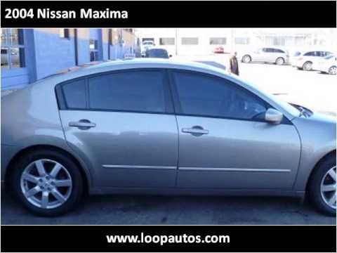 2004 nissan maxima used cars st louis mo youtube. Black Bedroom Furniture Sets. Home Design Ideas
