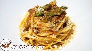 577 - Spaghetti asparagi e fegatini di pollo..mi fan perdere il controllo! (primo di carne squisito)