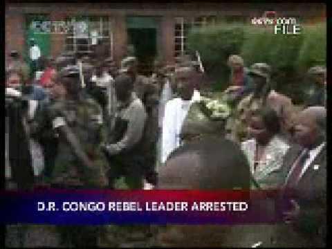D R  Congo rebel leader arrested